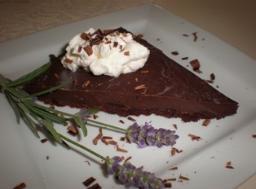 Chocolate-Lavender Tart | Desserts | Pinterest