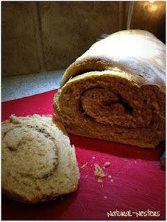 Cinnamon-Swirl Wheat Bread | Recipes ~ Breads & Bites | Pinterest