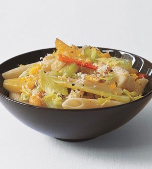 Penne with Lemon and Root Vegetables | Eating Healthy | Pinterest