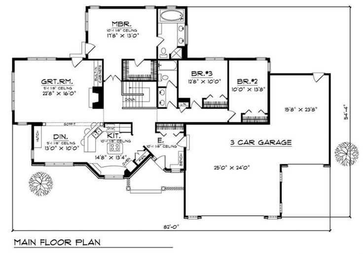 Image Result For Rambler House Plans With Basement Mn