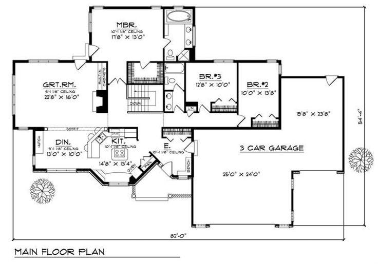 Rambler house plans joy studio design gallery best design for Small rambler house plans