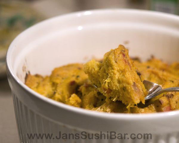 Chipotle Butternut Squash Souffle | Savory yummies | Pinterest