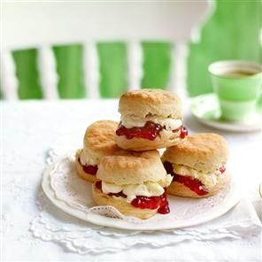 Classic scones recipe: Make these with Devonshire cream and have a tea ...