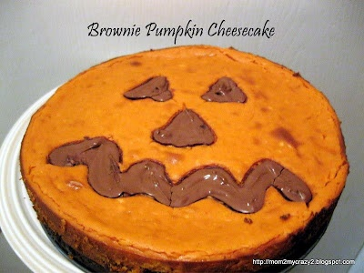 Brownie Pumpkin Cheesecake | Yummy | Pinterest