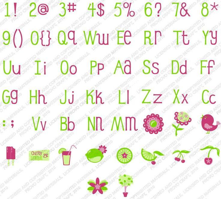 cherry limeade sample font