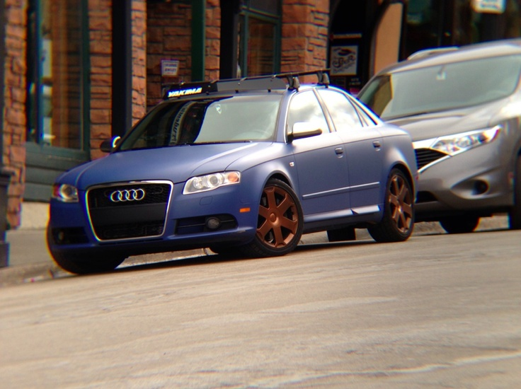 MidWest Dipping Car Wraps and More!: Audi s4 in Park City, Utah ...