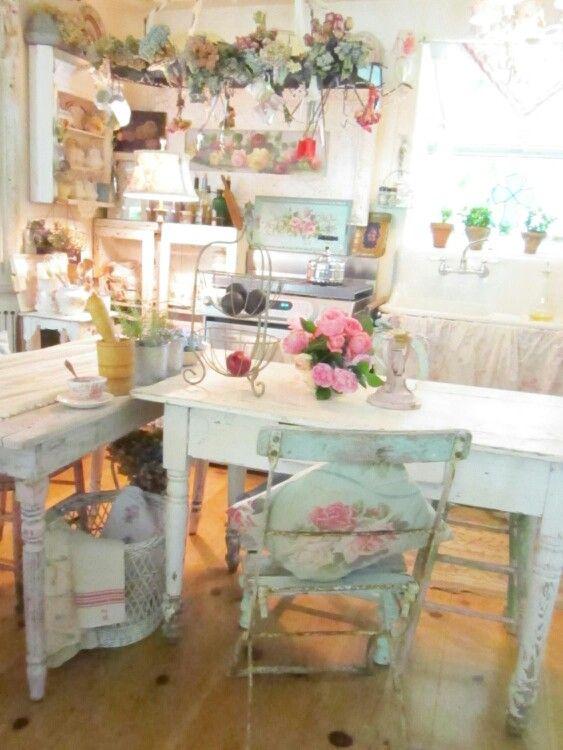 Kitchen shabby chic pinterest - Pinterest shabby chic kitchens ...