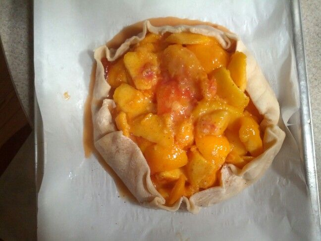 Peach crostata | Crostatas, Pies and Tarts | Pinterest