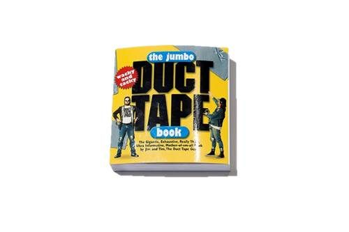 """The gigantic, exhaustive, really thick, ultra informative, mother-of-em-all """"Duct Tape Book"""""""