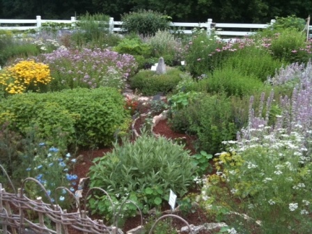 Herb and Flower Garden at Seed Savers Exchange