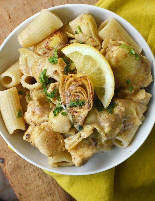 Chicken and Artichokes in Wine Sauce | Recipe