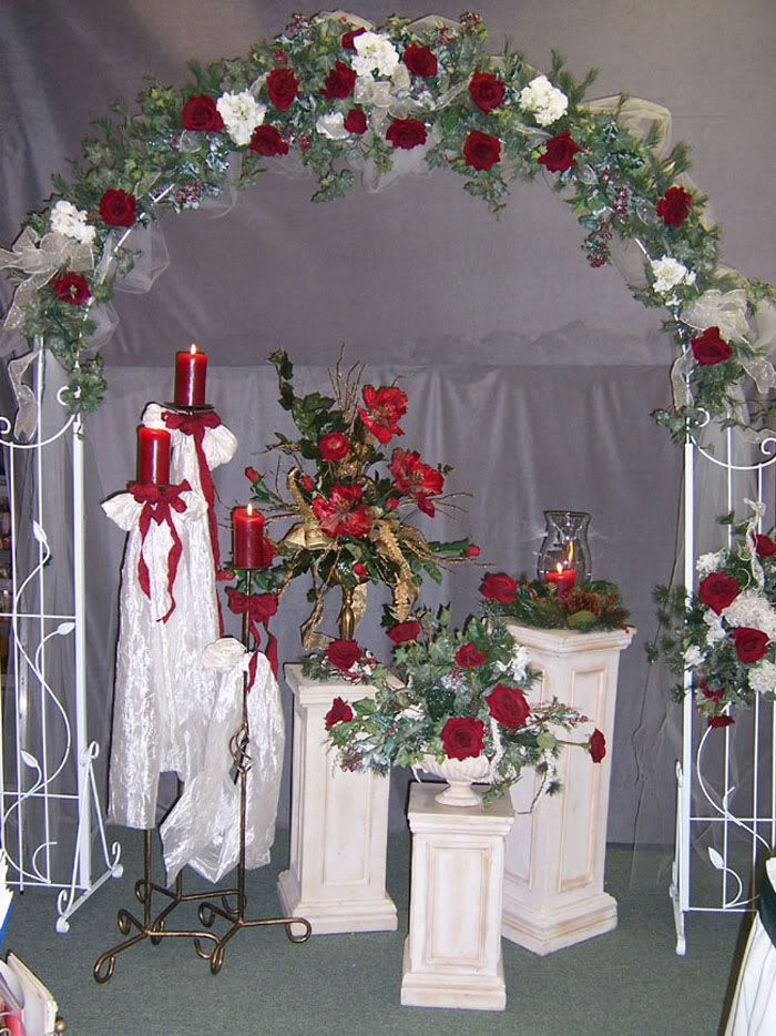 Wedding arch altars arches arbors pinterest for Arch decoration for wedding
