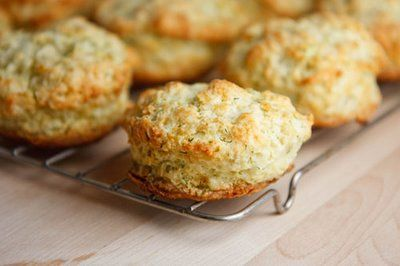 Dill Biscuits with Smoked Salmon, Watercress and a Creamy Dill Spread ...