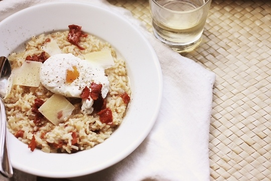 Risotto Carbonara - life, in recipes
