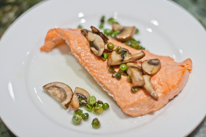 ... poached salmon olive oil poached salmon with indian spices recipe