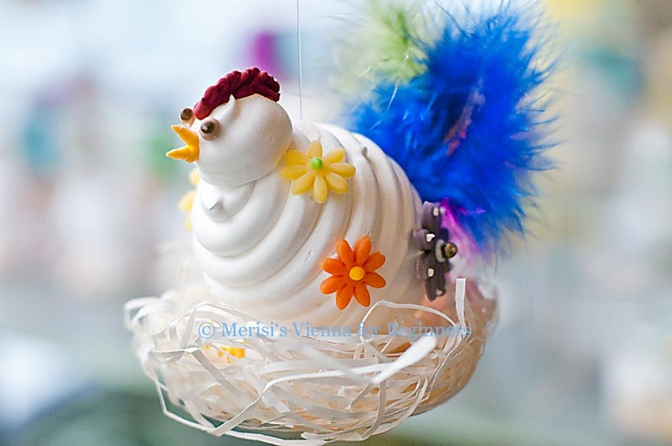 ... Beginners: Easter in ViennaOf Meringue laying Hens and Eggs in a Cup