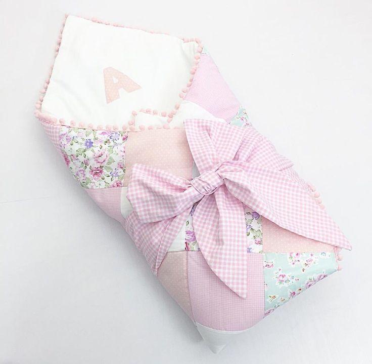 Конверт на выписку своими руками из детского одеяла 1