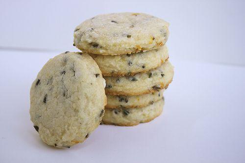 Lemon Lavender Shortbread Cookies | yummy | Pinterest