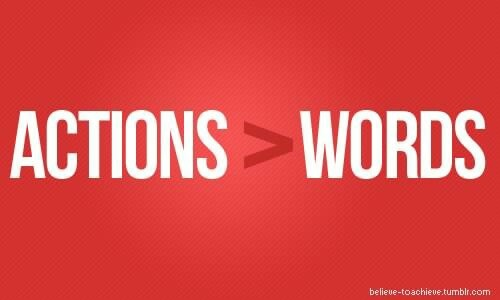 from Malaki dating actions vs words