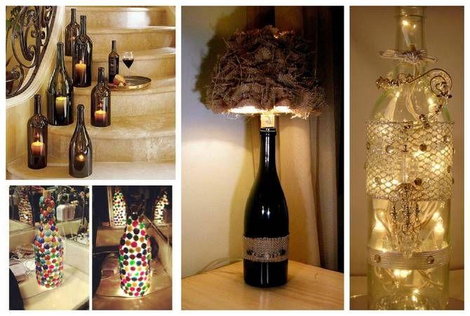 pin by marsha dace on wine bottle decor pinterest