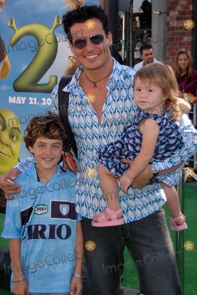 Antonio Sabato Jr  and kidsAntonio Sabato Jr Kids