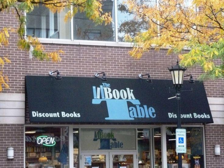 the book table oak park chicago bibliotecas librer as pintere. Black Bedroom Furniture Sets. Home Design Ideas