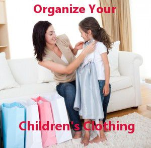 kid's room organizing Organize Your Childrens Clothes: Store, Share