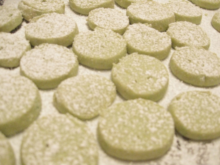 Lemon Lime Meltaway Cookies | Citrus Cookies | Pinterest