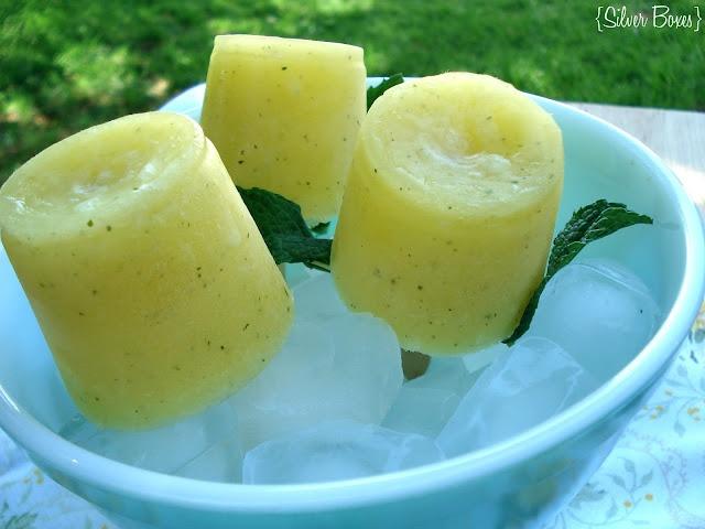 mango lemonade pops