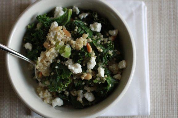 One Pot Kale and Quinoa Pilaf | Recipes | Pinterest