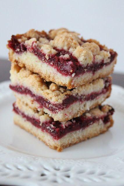 Raspberry Crumb Bars   Cookies/Bars   Pinterest