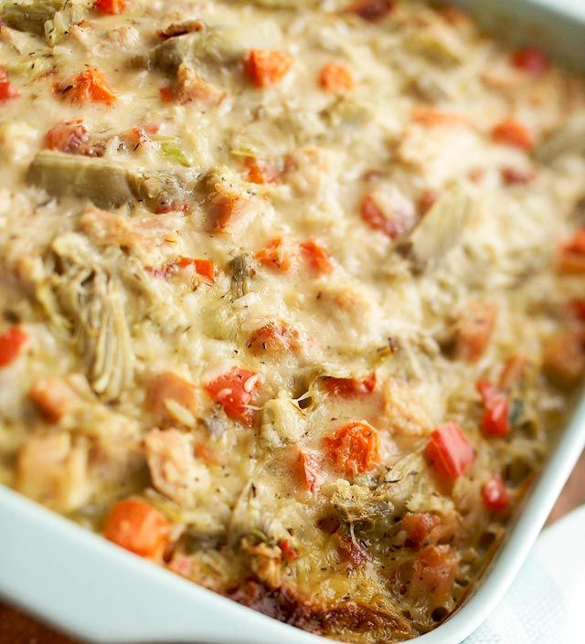 Artichoke-Turkey Casserole from the Better Homes and Gardens Must-Have ...
