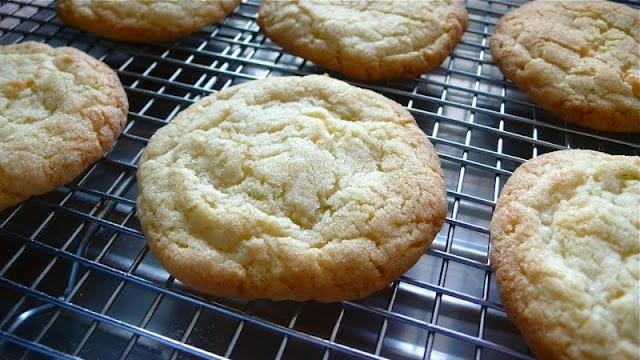 Chewy Coconut Lime Sugar Cookies | Savor | Pinterest