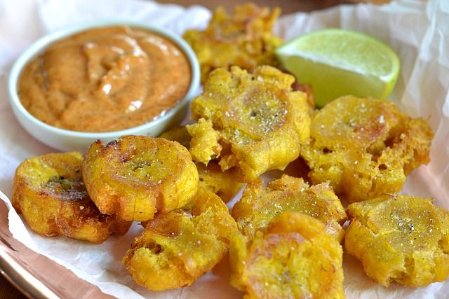 Tostones Two Ways | Sensational Side Dishes | Pinterest