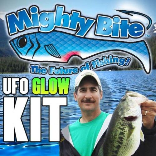 Mighty bite lures ufo glow kit as seen on tv pinterest for As seen on tv fishing lures