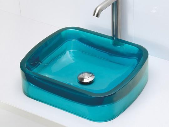 Rounded Rectangular Resin Vessel Sink Lagoon Tiga Home Bath Sink Pinterest Vessel