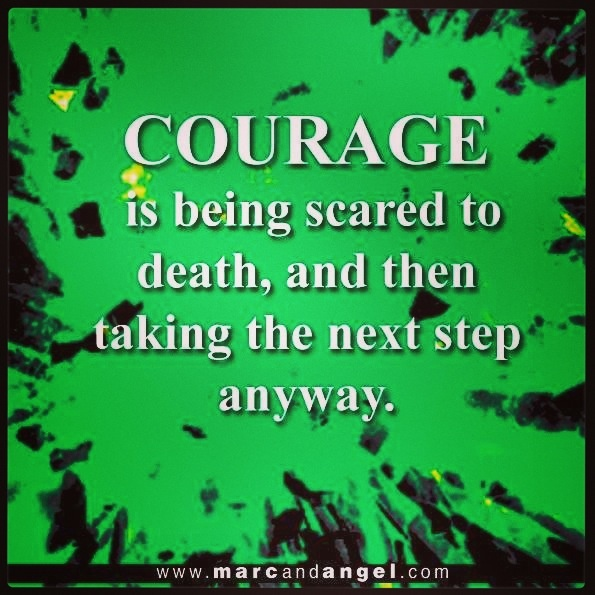 courage inspirational quotes pinterest