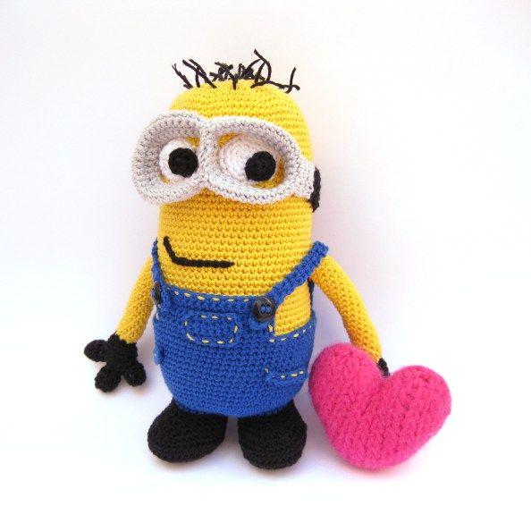 Amigurumi Crochet Minion : Minion Crochet Amigurumi Gru Pinterest