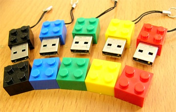 Funny LEGO Inspired Electronic Products