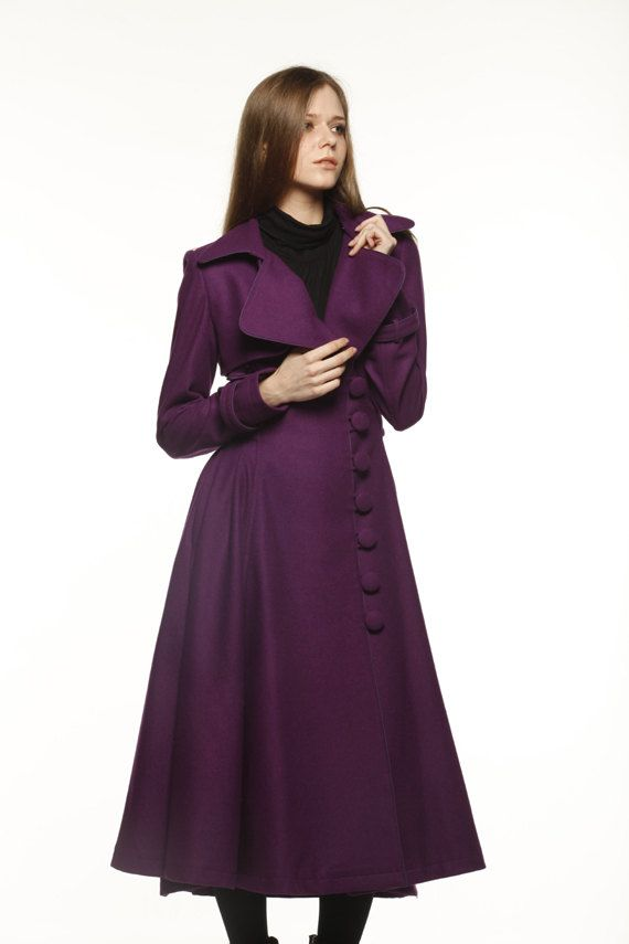 Brilliant  Coat Women Long Coats Long Wool Womens Dress Coat Wool Coats