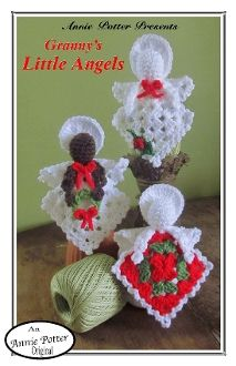 Angel Pin - CrochetKim.com Free Crochet Pattern