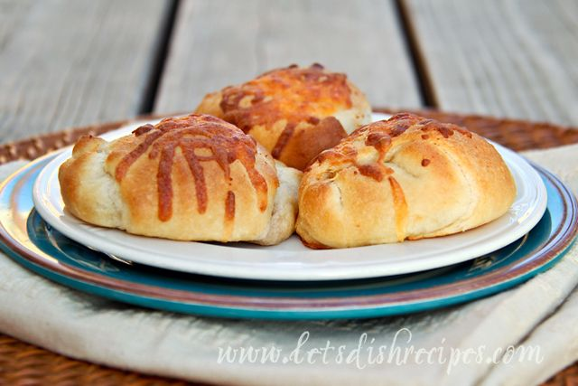 Chicken Enchilada Pockets | Crescent rolls | Pinterest