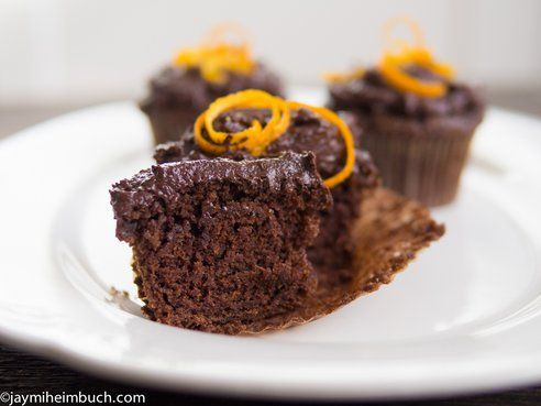 Orange ginger cupcakes - vegan | Vegan Recipes | Pinterest