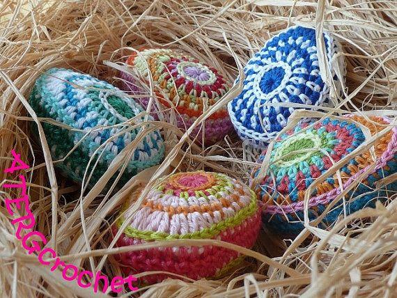 Crocheting Easter Eggs : Crochet pattern Easter egg II by ATERGcrochet by ATERGcrochet, ?2.65