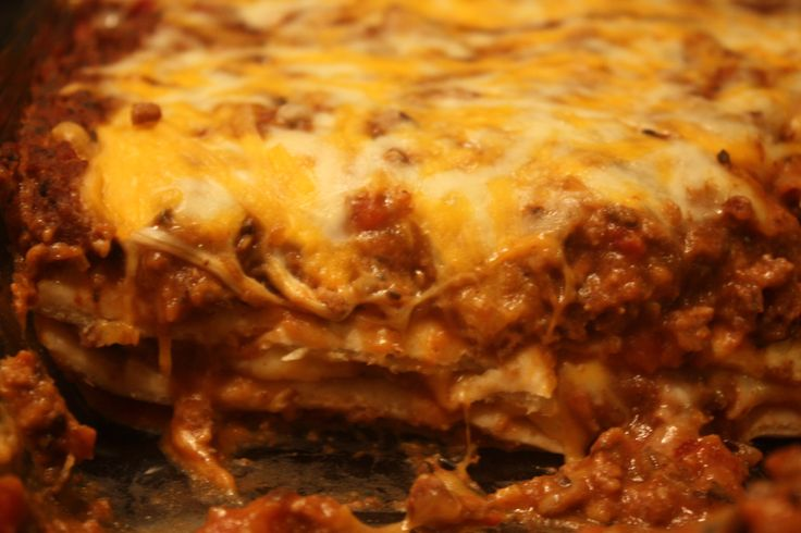 Burrito Pie on MyRecipeMagic.com | Yummies | Pinterest