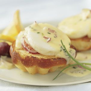 Lobster Eggs Benedict - Perfect brunch food