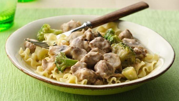 Creamy Turkey Mushroom Stroganoff | Recipe