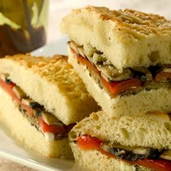 Grilled Mediterranean Vegetable Sandwich Recipe - 99 great reviews on ...