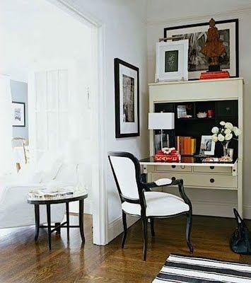 secretary desk black and white chair design files pinterest