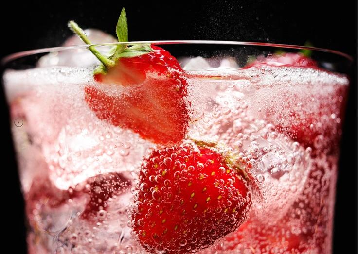 strawberry fizz | food | Pinterest
